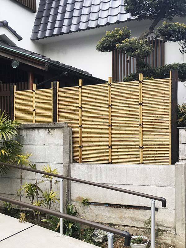 施工後:東京都練馬区/竹垣の施工