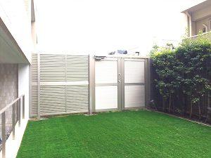 施工後:東京都中野区/人工芝の芝張り