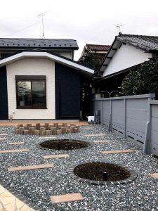 施工前:東京都東久留米市/樹木の植栽工事