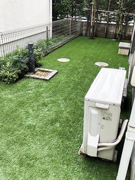 施工後:東京都西東京市/人工芝の施工